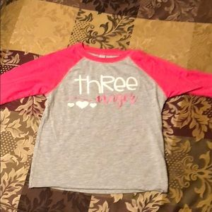Other - Size 4 threenager shirt